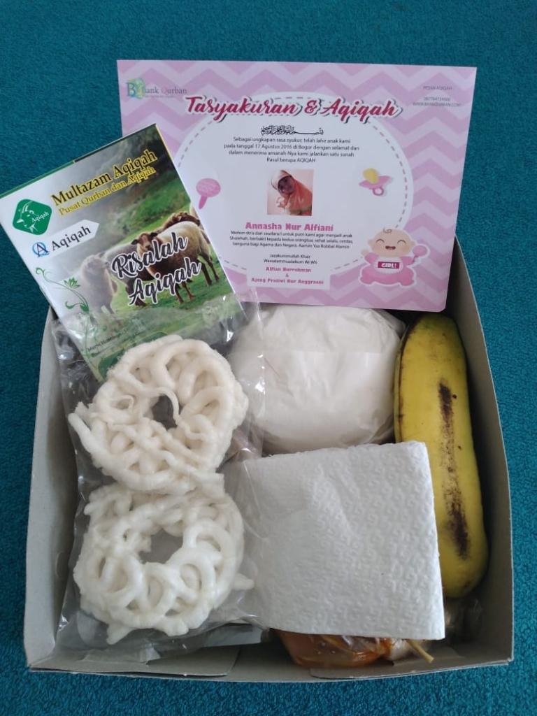 paket pemesanan aqiqah multazam aqiqah